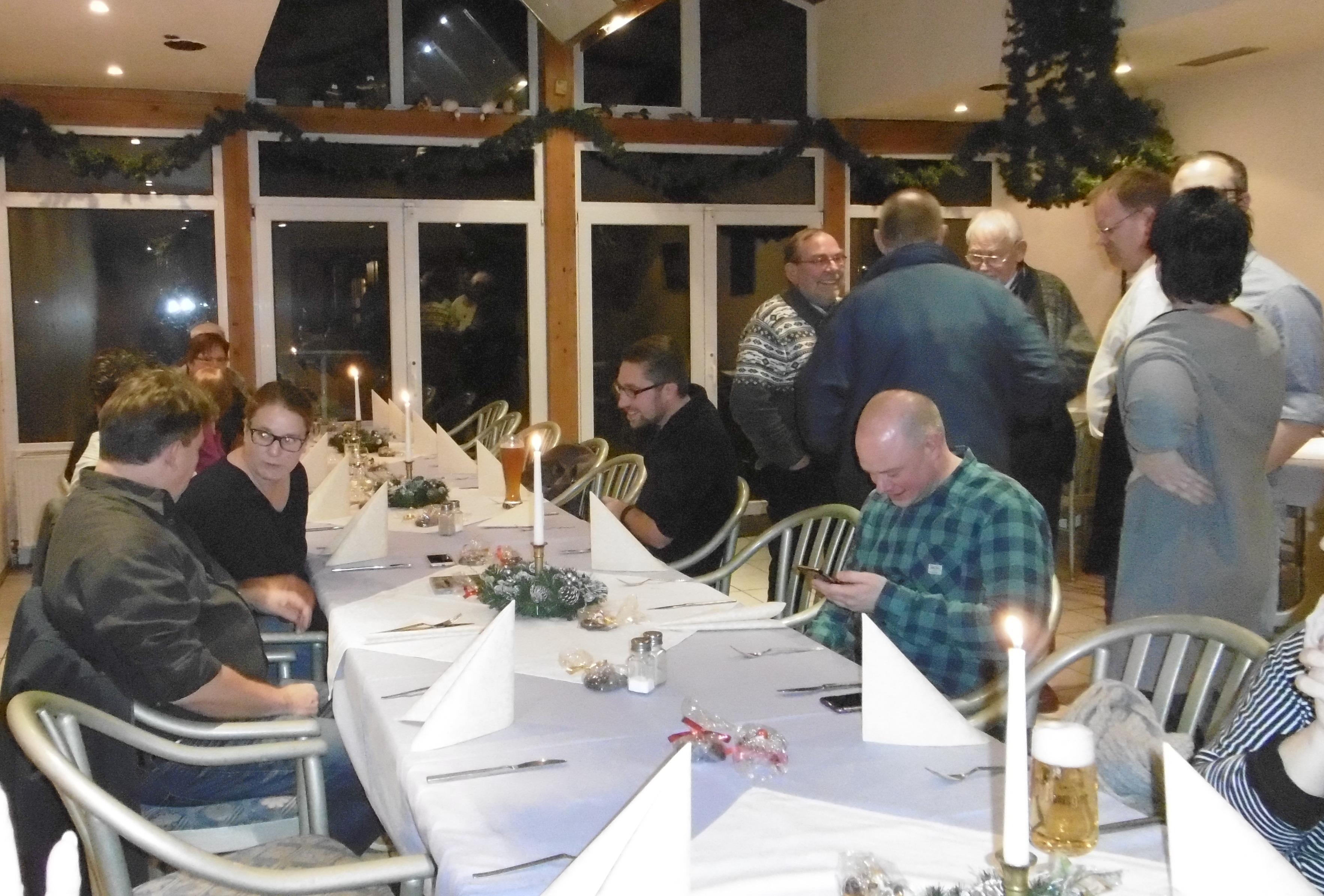 Restaurant Weihnachtsessen.Weihnachtsessen November 2017